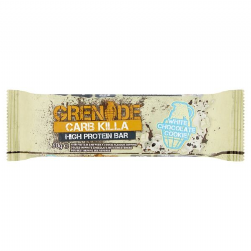 Grenade Carb Killa High Protein Bar White Chocolate Cookie 60g